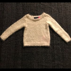 Other - Children's place fluffy sweater size 18-24m.